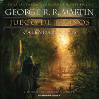 CALENDARIO 2013 - JUEGO DE TRONOS - (30X30)