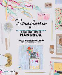 SCRAPLOVERS - 25 PROYECTOS DE SCRAPBOOKING POR LOS BLOGGERS DE HANDBOX