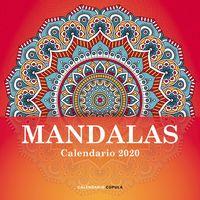CALENDARIO 2020 - MANDALAS (305X305)