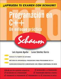 PROGRAMACION EN C++ (SCHAUM)