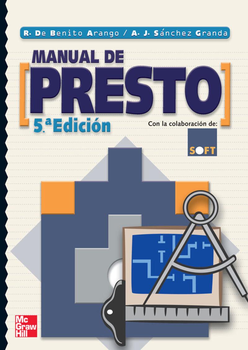 MANUAL DE PRESTO (5. ED)
