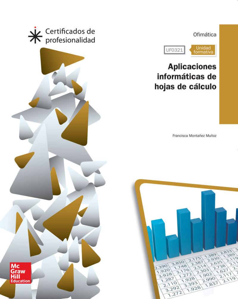 CP - APLICACIONES INFORMATICAS DE HOJAS DE CALCULO - UF0321