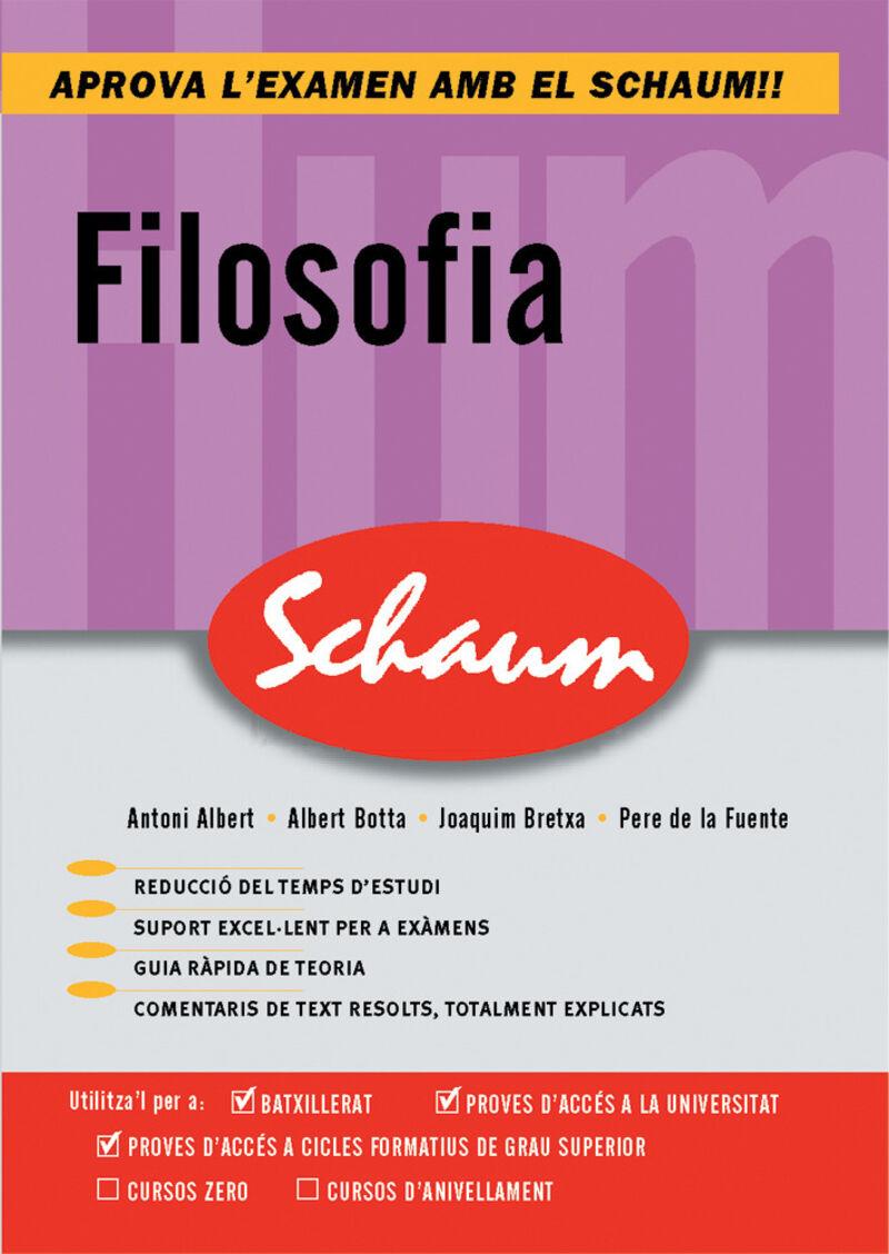 SELEC - SCHAUM - FILOSOFIA (CAT)