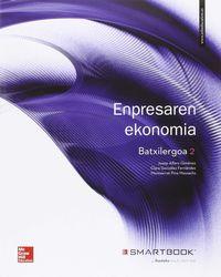 Batx 2 - Enpresaren Ekonomia - Josep Alfaro Gimenez / Clara Gonzalez Fernandez / Montserrat Pina Massachs