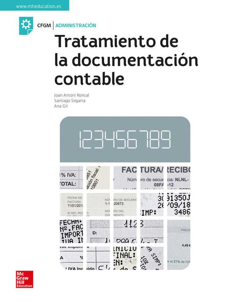 Gm - Tratamiento De La Documentacion Contable (+anexo Gestion Contable) - Ana Gil / Alicia Fernandez-Cabrera / Isabel Lucas