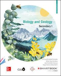 ESO 1 - BIOLOGY AND GEOLOGY CLIL - NOVA (+COD SMARTBOOK)