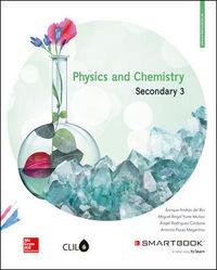 Eso 3 - Physics And Chemistry Clil (+smartbook) - Enrique Andres Del Rio / [ET AL. ]