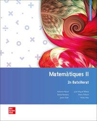 BATX 2 - MATEMATIQUES CC. TT. (CAT)