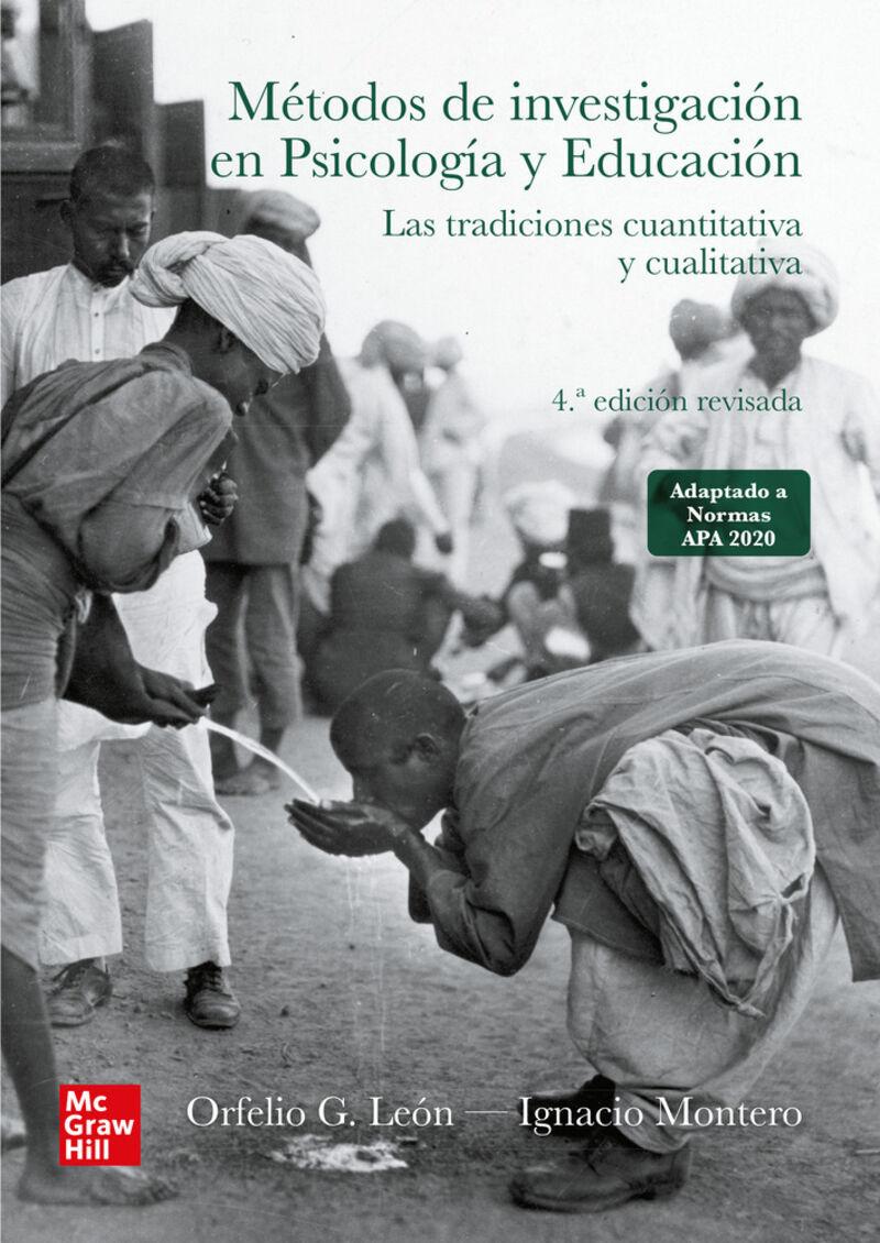 (4 ED) METODOS DE INVESTIGACION EN PSICOLOGIA Y EDUCACION - LAS TRADICIONES CUANTITATIVA Y CUALITATIVA