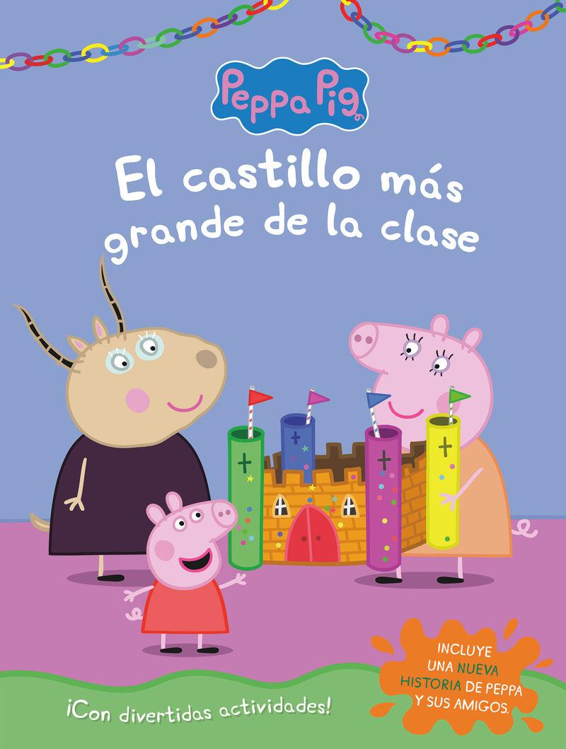 PEPPA PIG - EL CASTILLO MAS GRANDE DE LA CLASE (ACTIVIDADES)