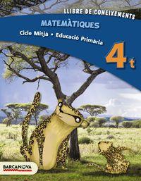 EP 4 - MATEMATIQUES (CAT, BAL) - LLIBRE DE CONEIXEMENTS