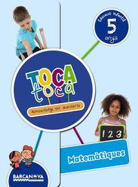 5 ANYS - TOCA-TOCA - MATEMATIQUES (CAT)