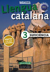 CURS CATALA SUFICIENCIA 3 (C1) SOLUC