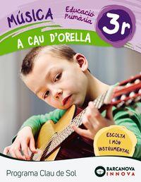 EP 3 - MUSICA QUAD - A CAU D'ORELLA - CLAU DE SOL (C. CAT, C. VAL, BAL)