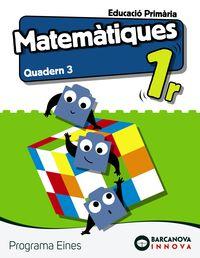 Ep 1 - Matematiques (bal, Cat) Quad 3 - Eines - Innova - Ana Carvajal / Lucia De La Rosa