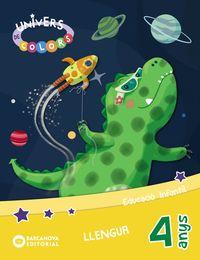 4 ANYS - LLENGUA (CAT) - UNIVERS DE COLORS - INNOVA