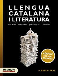 BATX 1 - LLENGUA CATALANA I LITERATURA (BAL, CAT)