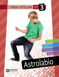 ESO 3 - LENGUA CASTELLANA - ASTROLABIO -INNOVA