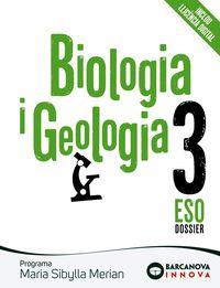 Eso 3 - Biologia - Maria Sibylla (cat, Bal) - Innova - M. Rosa Bobe / Montserrat Esque
