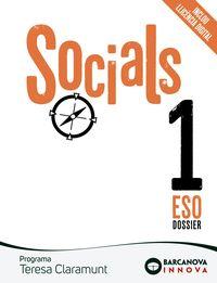 ESO 1 - SOCIALS - TERESA CLARAMUNT (CAT, BAL) - INNOVA