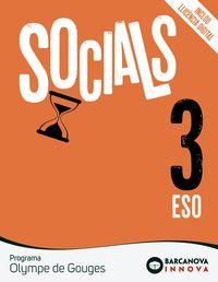 ESO 3 - SOCIALS - OLYMPE DE GOUGES (CAT) - INNOVA