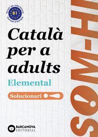 SOM-HI! 1, 2, 3 - LLENGUA CATALANA SOL
