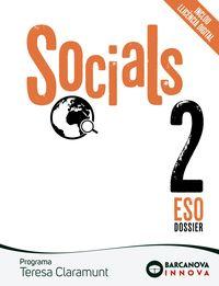 ESO 2 - TERESA CLARAMUNT - SOCIALS (CAT, BAL) - INNOVA