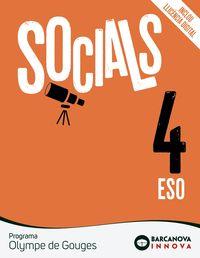 ESO 4 - OLYMPE DE GOUGES - SOCIALS (CAT) - INNOVA