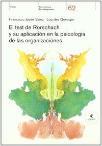 TEST DE RORSCHACH Y SU APLICACION EN LA PSICOLOGIA DE LAS ORGANIZA