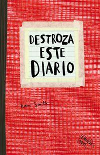 destroza este diario (rojo) - Keri Smith
