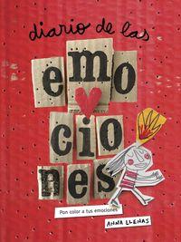 diario de las emociones - pon color a tus emociones - Anna Llenas