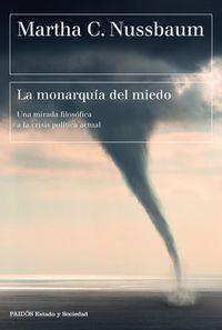 MONARQUIA DEL MIEDO, LA - UNA MIRADA FILOSOFICA A LA CRISIS POLITICA ACTUAL