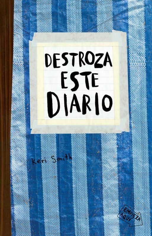destroza este diario (azul) - Keri Smith
