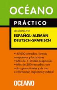 OCEANO PRACTICO DICCIONARIO ESP / ALE - DEU / SPA