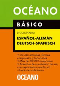 DICCIONARIO BASICO ALEMAN-ESPAÑOL