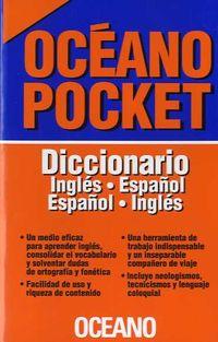 DICCIONARIO OCEANO POCKET ING / ESP - ESP / ING