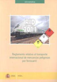 REGLAMENTO RELATIVO AL TRANSPORTE INTERNACIONAL DE MERCANCIA
