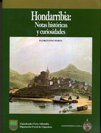 HONDARRIBIA - NOTAS HISTORICAS Y CURIOSIDADES
