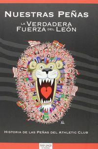 Nuestras Peñas, La Verdadera Fuerza Del Leon - Peña Gainza De Minglanilla