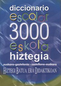 ADOREZ 9 - HIZTEGIA ESKOLA 3000