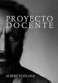proyecto docente - Albert Viaplana