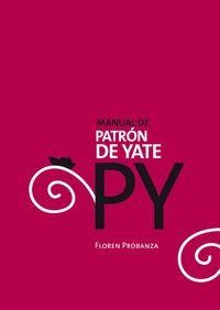 PY - MANUAL DE PATRON DE YATE