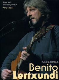 BENITO LERTXUNDI, ORIOKO BARDOA