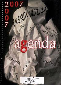 2007 - EUSKAL IDAZLEEN AGENDA