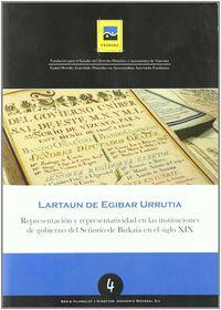 Representacion Y Representatividad En Las Instituciones Del Gobierno - Lartaun De Egibar Urrutia