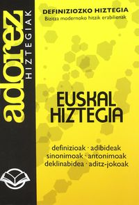 ADOREZ 13 - DEFINIZIOZKO HIZTEGIA