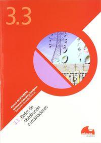 (CUAD. ) (3.3) (B) REDES DE DISTRIBUCION E INSTALACIONES
