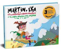MARTIN, LEA ETA GANBARAKO LIBURU MAGIKOA = MARTIN, LEA Y EL LIBRO MAGICO DEL DESVAN