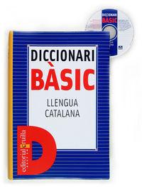 DICCIONARI BASIC - LLENGUA CATALANA CRUILLA