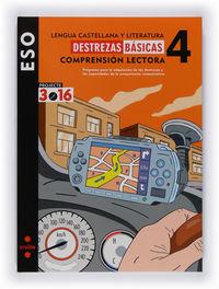 LENGUA CASTELLANA 4ESO CUAD DESTREZAS BASICAS COM. LEC. (3.16)